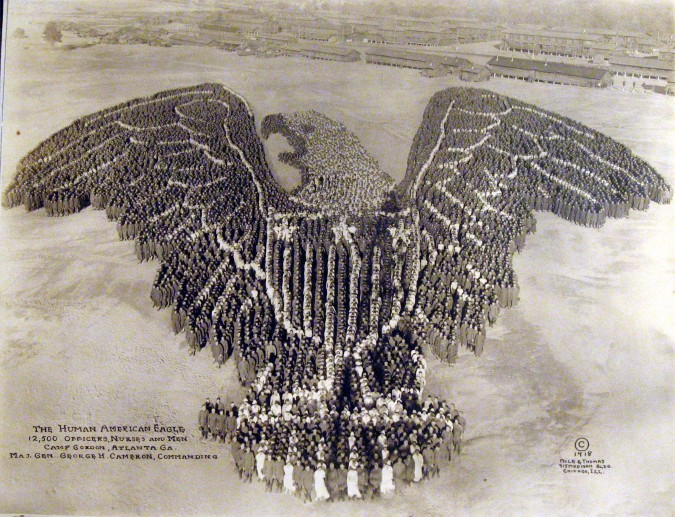 Incredible Pictures Formed by Thousands of US Soldiers