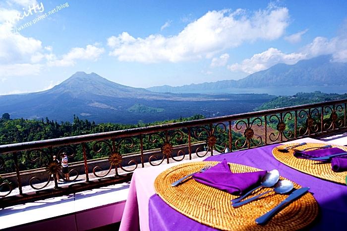 峇里島,巴杜爾火山,巴里島,推薦,景觀餐廳,景點,美食,自助,自助餐,自由行,行程 @小環妞 幸福足跡