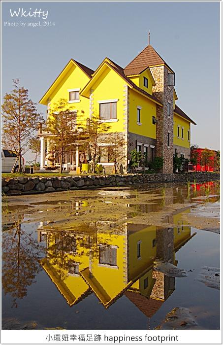【宜蘭民宿】爵士館♥離歐洲最近的地方,黃澄澄的歐洲幸福城堡!