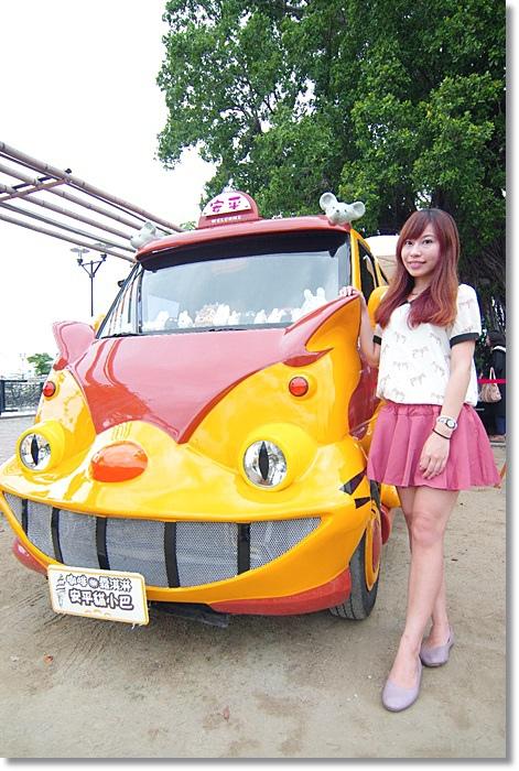 [台南旅遊景點]˙安平貓小巴 ♥ 跟著宮崎駿龍貓公車,一起翱翔在童真的世界裡 @小環妞 幸福足跡