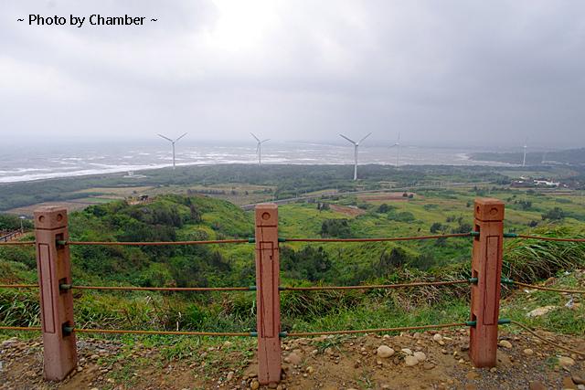 ▌環島 ▌苗栗後龍好望角 ♥ 全台密度最高的風車所在處 @小環妞 幸福足跡