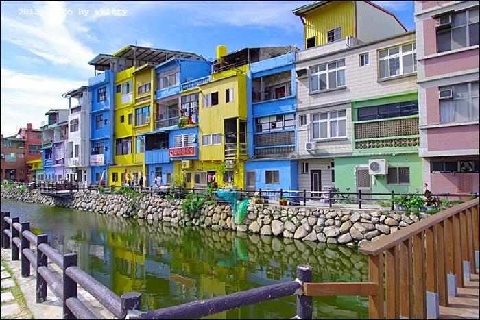 金門彩色小屋 ♥ 金門小歐洲,丹麥哥本哈根彩色屋台灣也有!