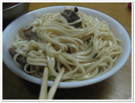 [♧美食♧-台北 文化大學 牛肉拌麵] @小環妞 幸福足跡