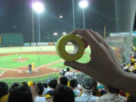 [♬棒球♬-我只是想拋綵帶呀 哀] @小環妞 幸福足跡