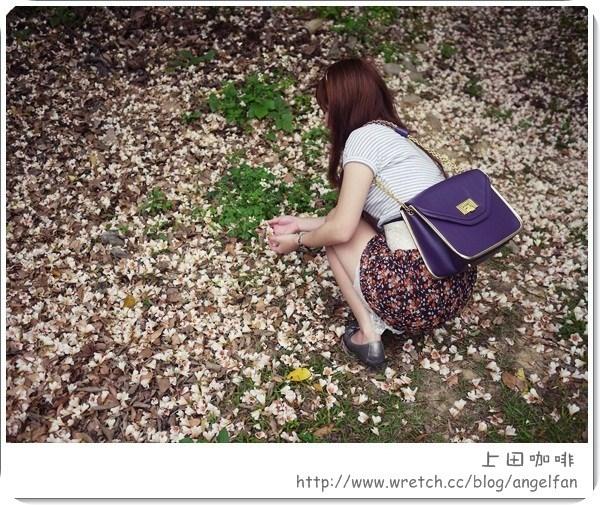 [玩♡苗栗~今年初見油桐花四月雪。上田咖啡] @小環妞 幸福足跡