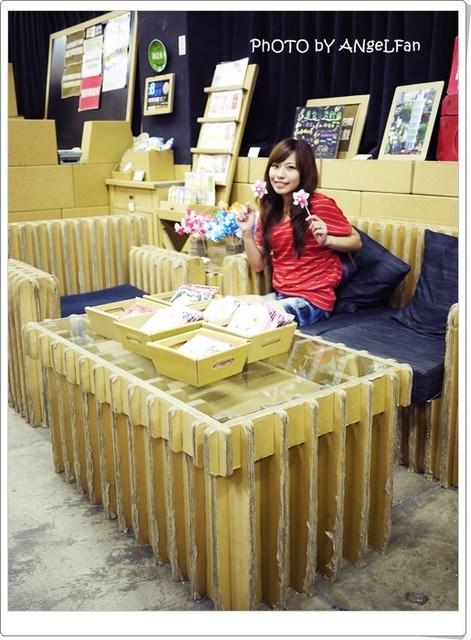[玩♡台中]大坑~太神奇了!都是用紙做的。紙箱王 @小環妞 幸福足跡