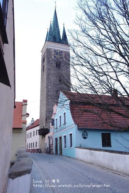 ❤Love in 捷克-6❤恐怖蠟像館之恐怖小鎮。我們住在可愛小屋中~Telc @小環妞 幸福足跡