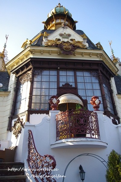 ❤Love in 捷克-12❤數數看?布拉格古橋一覽無遺~黃金巷。Hanavsky Papilon餐廳。驚魂記 @小環妞 幸福足跡