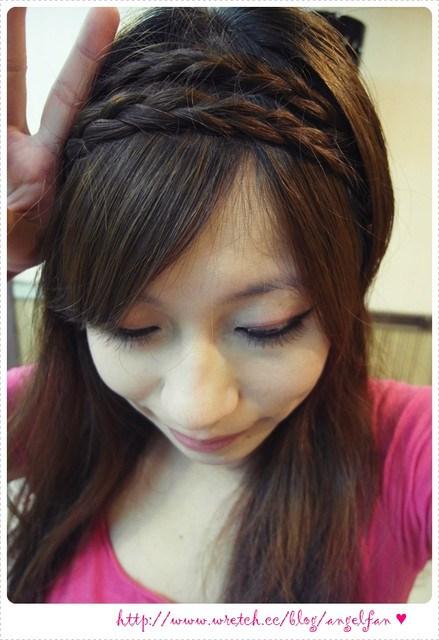 ▌髮記 ▌手殘也會綁♥浪漫辮子髮窟出門約會去~ @小環妞 幸福足跡