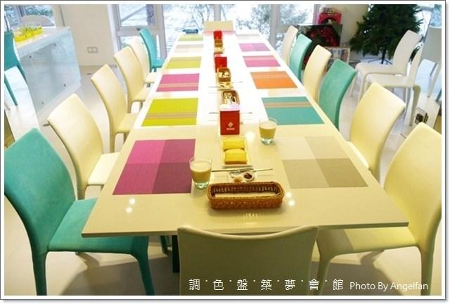 [宜蘭民宿] La Palette調色盤築夢會館。彩虹般繽紛時尚。豪華的住宿環境 @小環妞 幸福足跡