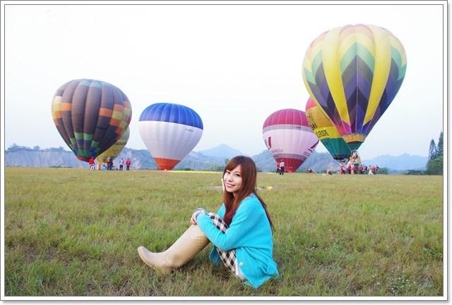 台南,推薦,旅遊,景點,熱氣球,走馬瀨農場 @小環妞 幸福足跡
