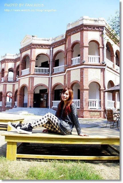 [台南景點]˙知事官邸 ♥ 輕訪巴洛克風情,紅磚建築代表 @小環妞 幸福足跡