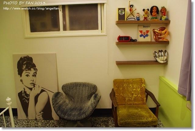 [台南住宿推薦]˙小洋房老屋民宿 ♥ 70年代的美國電影場景,當私人別墅的一日小主人 @小環妞 幸福足跡