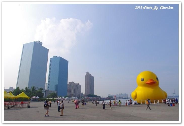 ▌環島 ▌高雄˙童年裡最純真的夢想 ♥ 黃色小鴨要說再見摟~ @小環妞 幸福足跡