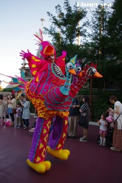 【東京迪士尼海洋Disney Sea】(中)驚魂古塔/蜜西哥傳奇/地心探險之旅/風暴騎士/奇奇帝帝的萬聖骷髏狂歡會(13) @小環妞 幸福足跡