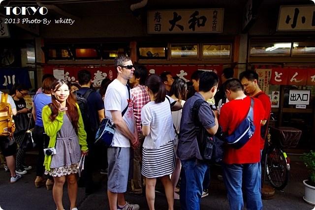 大和壽司,東京必吃美食,東京築地交通,東京築地壽司,東京築地市場,東京築地美食 @小環妞 幸福足跡