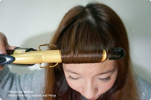 ▌髮記 ▌變美美♥ 用電捲棒打造波浪可人捲 ♬ @小環妞 幸福足跡