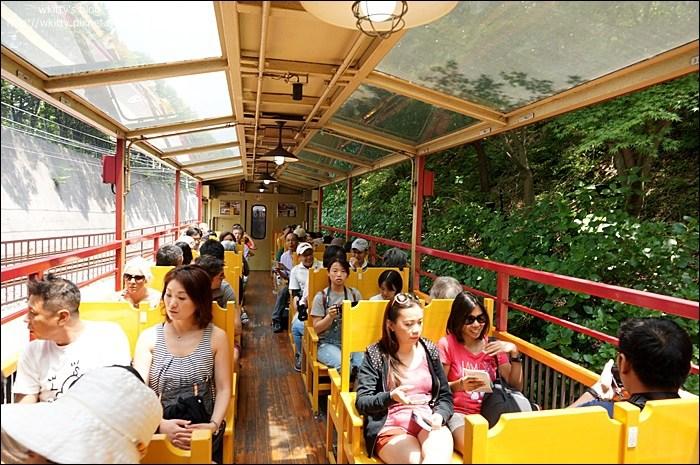 【京都嵐山】嵐山嵯峨野浪漫小火車*搭火車看風景!(20) @小環妞 幸福足跡