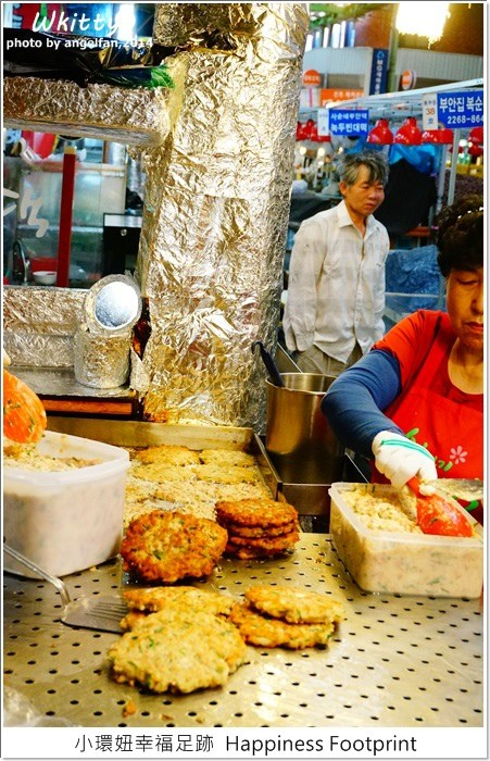 【韓國首爾美食(6)】廣藏市場광장시장 ♥ 韓綜愛來的美食小吃,跟著running-man的腳步來大吃!順熙家綠豆煎餅、毒藥(麻藥)紫菜飯捲 @小環妞 幸福足跡