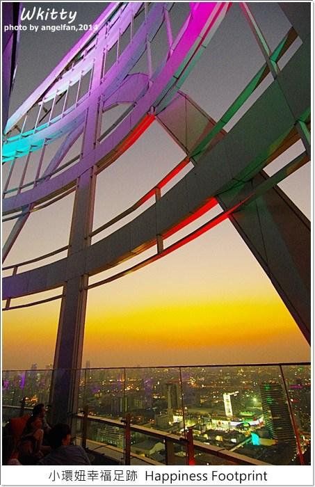【曼谷(12)】Red Sky Bar,曼谷一定要去的高空酒吧,夜景浪漫滿點! @小環妞 幸福足跡