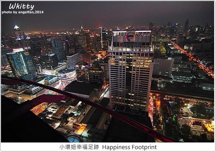 曼谷 Red Sky,曼谷 夜景 red sky,曼谷 酒吧,曼谷夜景,曼谷自由行,曼谷行程推薦 @小環妞 幸福足跡
