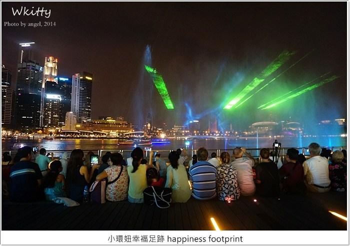 【新加坡自由行】金沙酒店前水舞秀,精采絕倫! @小環妞 幸福足跡