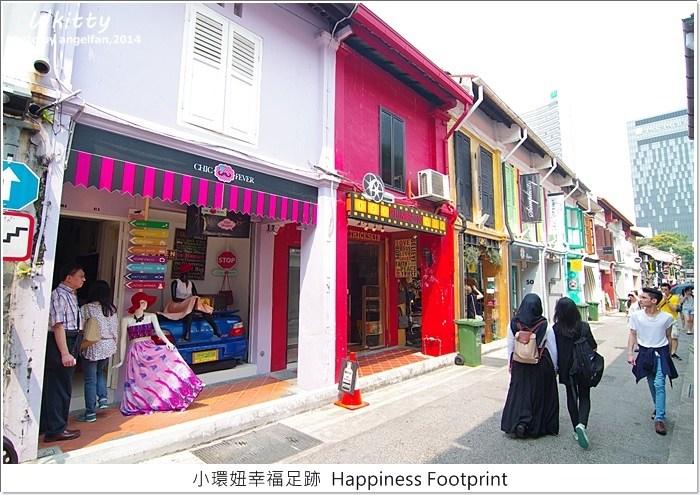 【新加坡景點】哈芝巷Haji Lane,色彩超繽紛的一條巷子~ @小環妞 幸福足跡