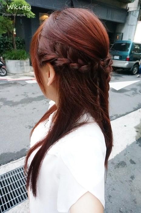 【染髮】婚禮月必備髮色,紅橘色好喜氣阿! @小環妞 幸福足跡