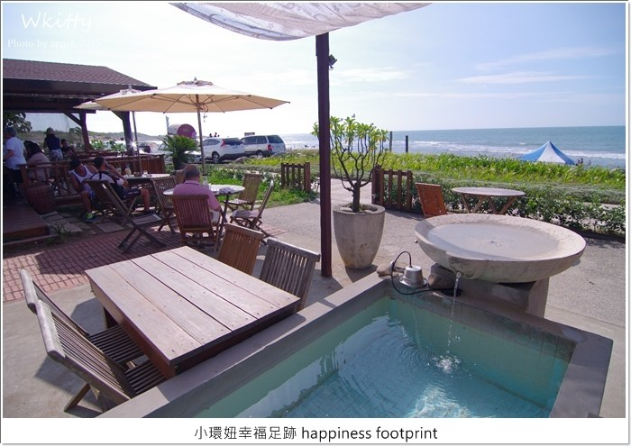 【北海岸三芝景觀餐廳】VILLA SUGAR,淺水灣旁的咖啡廳美食,超有峇里島風! @小環妞 幸福足跡