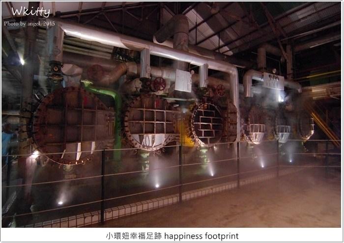 【台南景點推薦】十鼓文化村糖廠,台南百年廢棄糖廠,神秘夜景絕美的夜遊好去處! @小環妞 幸福足跡