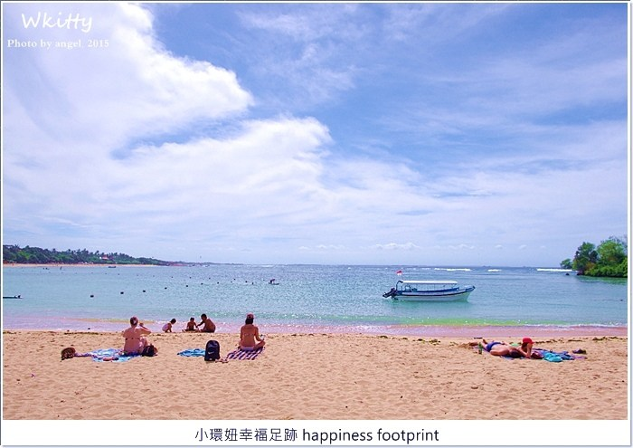 【峇里島景點(21)】Nusa Dua努沙杜瓦海灘玩耍,Bali Collection花園廣場購物中心逛街 @小環妞 幸福足跡