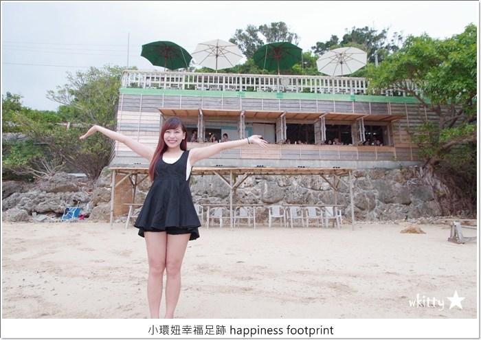 【沖繩必吃美食】浜邊の茶屋,沖繩南部景點,美麗海景伴隨著木造茶屋【9】 @小環妞 幸福足跡
