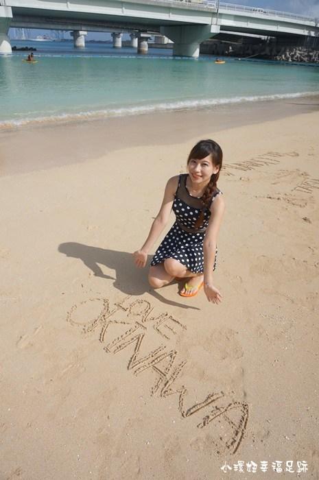 【沖繩自由行景點】波上宮+波之上海灘,沖繩海絕美【33】 @小環妞 幸福足跡