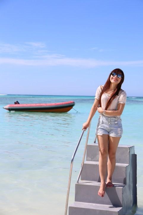 【沙巴自由行】沙巴環灘島浮潛BBQ一日遊【7】 @小環妞 幸福足跡