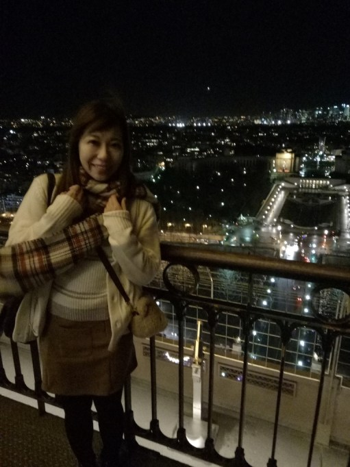 【巴黎必去景點】巴黎鐵塔,夜訪艾菲爾鐵塔,浪漫夜景美翻了! @小環妞 幸福足跡