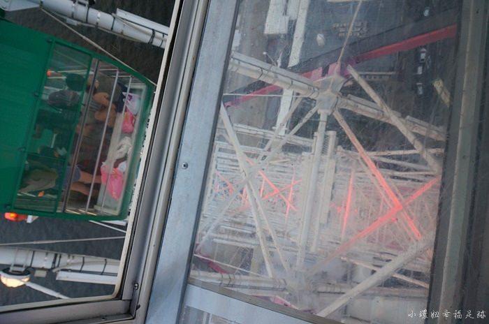 【大阪周遊券必去】天保山摩天輪,透明車廂,推薦+海遊館行程 @小環妞 幸福足跡