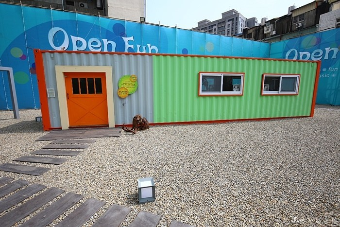 【台中IG熱門景點】Open Fun藝術家駐村,台中西屯區限時新景點 @小環妞 幸福足跡