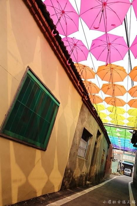 rainbow house,卡里善之樹,和美景點,和美雨傘,和美雨傘街,彰化和美景點,為愛撐傘 @小環妞 幸福足跡
