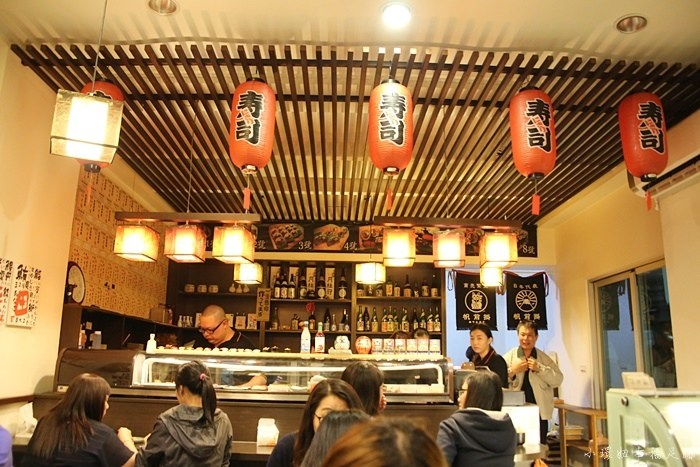 【台南日本料理推薦】采田壽司,排隊到天荒地老的日式美食! @小環妞 幸福足跡