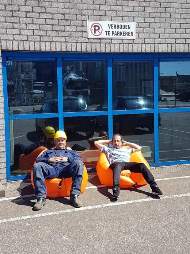 Inzending Bart en Abnan bij ArcelorMittal
