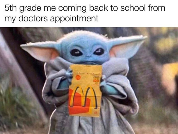 50 Of the Best Baby Yoda Memes We Can't Live Without