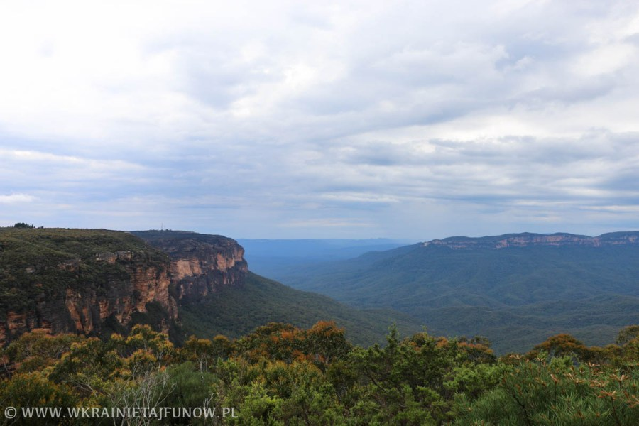 Błękitne Góry (Blue Mountains), Australia