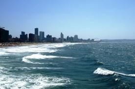 Panorama Durban widziana z Moyo