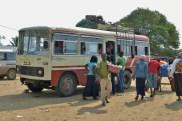 Catembe - lokalny autobus