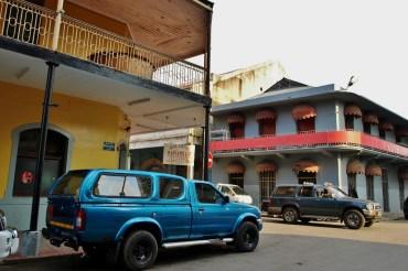 Maputo - typowa architektura