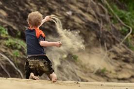 Więcej piachu...