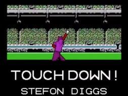 Tecmo Bowl Diggs TD