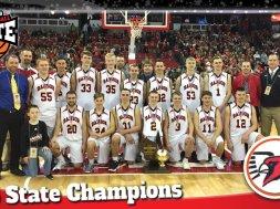 Bangor boys 2018 state basketball champs