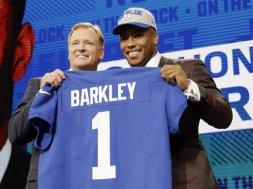 Barkley NFL draft no 2 AP