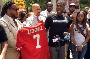 NFL anthem protest AP